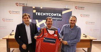 Tecnyconta, nuevo patrocinador principal del Basket Zaragoza