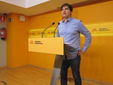 """ERC demana a Puigdemont certeses sobre el procés i veuria """"molt interessant"""" un RUI (EUROPA PRESS)"""