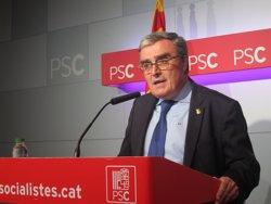 El PSC reafirma el 'no' a Puigdemont i l'anima a reflectir-se en Urkullu (EUROPA PRESS)