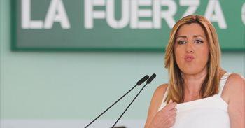 Susana Díaz reunirá a la plana mayor del PSOE-A 48 horas antes del Comité...