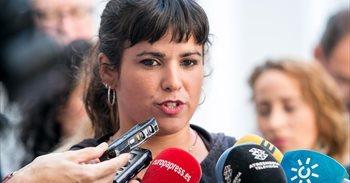 Teresa Rodríguez saluda 'Andalucía plaza a plaza' y dice no estar molesta...