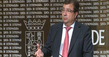 """Vara aclara que en Extremadura """"no se puede romper ningún pacto con..."""