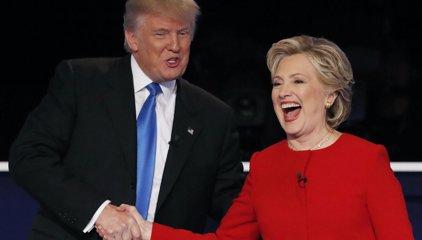 Clinton se impone a Trump en el primer cara a cara, según un sondeo
