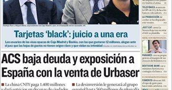 Las portadas de los periódicos económicos de hoy, martes 27 de septiembre