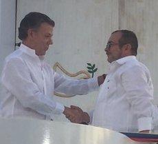 Govern i FARC segellen l'acord de pau de Colòmbia (COLPRENSA)