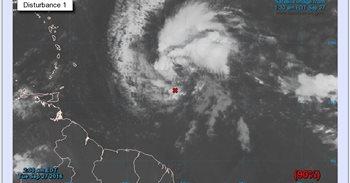 Una tormenta tropical se está formando en el Caribe y podría ser el mayor...