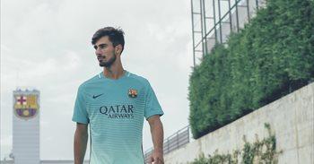 El FC Barcelona y Nike presentan una tercera equipación inspirada en Gaudí