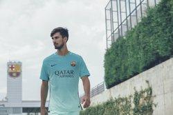 El FC Barcelona i Nike presenten una tercera equipació inspirada en Gaudí (MANUEL GIRON)