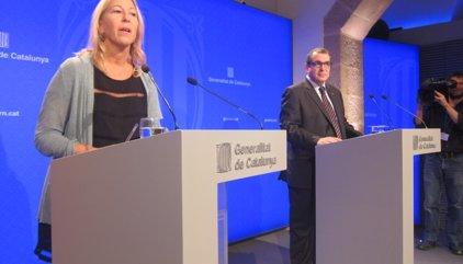 """El Govern promet """"culminar"""" el procés i evita avançar el discurs de Puigdemont"""