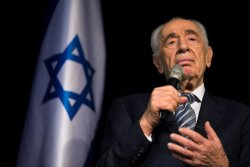 Els metges consideren ja irreversible l'estat de Shimon Peres (AMIR COHEN/REUTERS)