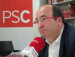 Iceta respecta Susana Díaz però subratlla que el PSC dóna suport a l'estratègia de Sánchez (EUROPA PRESS)