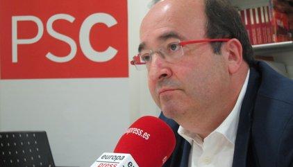 Iceta respecta Susana Díaz però subratlla que el PSC dóna suport a l'estratègia de Sánchez