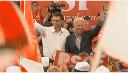 Felipe González creu que Sánchez ha de dimitir si el Comitè Federal tomba el seu pla i diu que se sent enganyat