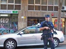 Detinguts dos jihadistes al centre de Barcelona i a Canovelles (EUROPA PRESS)