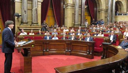 """Carles Puigdemont a la CUP: """"O se aprueban los Presupuestos o convocaré elecciones"""""""