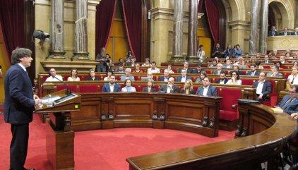 """Puigdemont a la CUP: """"O s'aproven els Pressupostos o convocaré eleccions"""""""