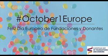 La Asociación Española de Fundaciones invita a usar el 1 de octubre el...