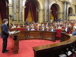 Puigdemont reprotxa a l'Estat que es negui a dialogar però es reunís amb ETA (EUROPA PRESS)