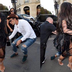 Kim Kardashian, atacada por el mismo que pegó a Brad Pitt y acosó a Gigi Hadid