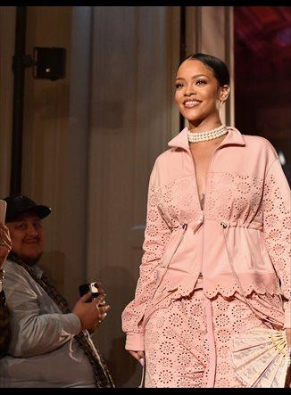 Rihanna lleva a María Antonieta al gimnasio con ropa de Puma