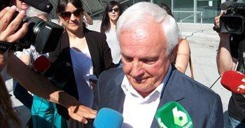 Llega a los juzgados Baltar Pumar para declarar en la causa de su hijo