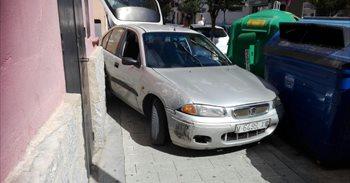 Una persecución se salda con un conductor detenido tras estrellar su coche