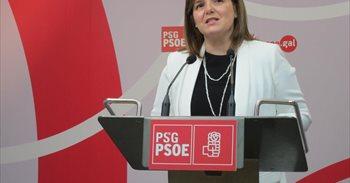 La presidenta de la gestora del PSdeG recalca su apoyo a Sánchez y su...