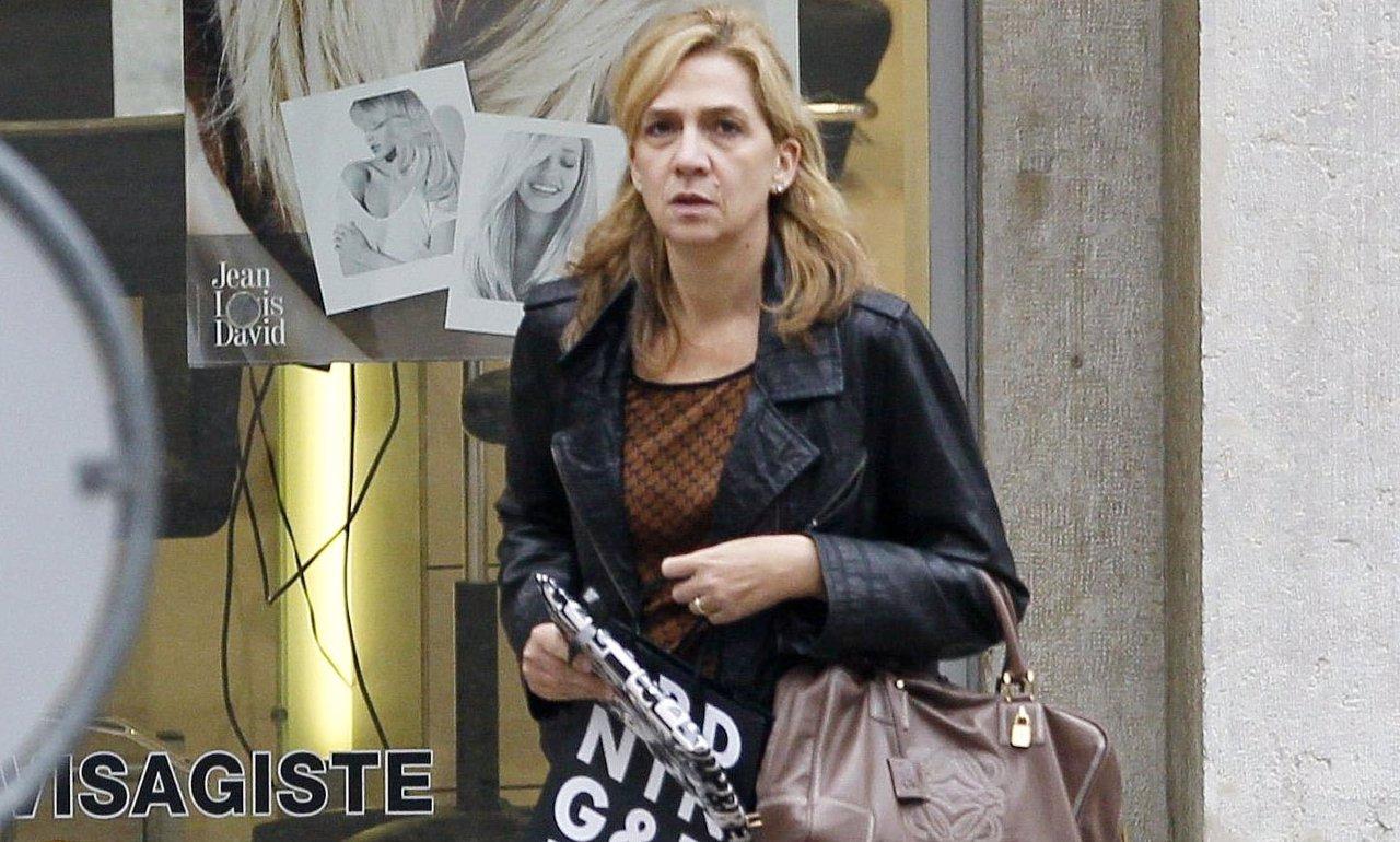 La Infanta Cristina, su discreta vuelta a Barcelona