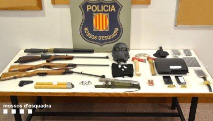 Successos.- Desmantellada una banda que assaltava plantacions de marihuana a Girona