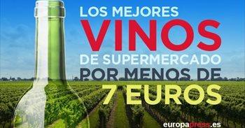 Los mejores vinos del supermercado por menos de siete euros