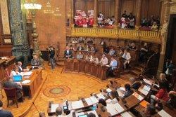 El saló de plens de Barcelona canvia el nom de Reina Regent a Carles Pi i Sunyer (EUROPA PRESS)