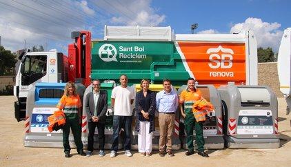 Sant Boi destina 5,2 milions a la renovació del sistema de recollida de residus
