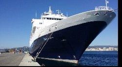 El Port de Palamós (Girona) acull un creuer amb 600 passatgers britànics (GENCAT)