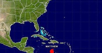 El huracán 'Matthew' se eleva a categoría 5, el más potente sobre el...