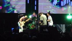 Red Hot Chili Peppers actuen aquest dissabte i diumenge al palau Sant Jordi (EUROPA PRESS)
