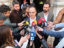 Turull (JxSí) demana planejar el referèndum amb la CUP per
