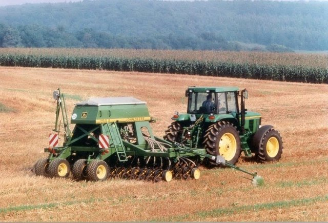 Agricultores aragoneses.