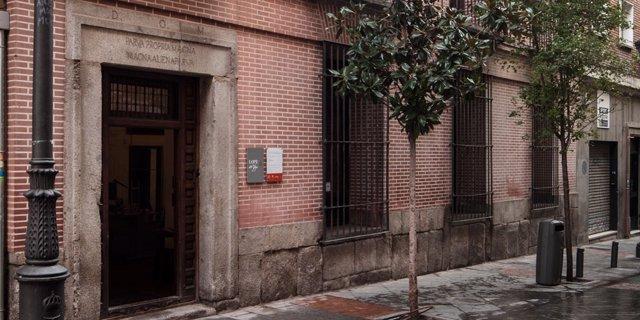 Imagen de la fachada de la Casa Museo Lope de Vega en Madrid