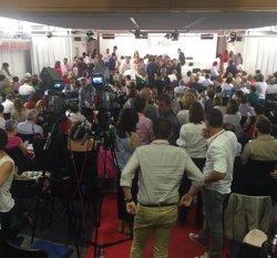Sánchez es va aixecar per fer la proposta quan la presidenta del Comitè volia que es votés (EUROPA PRESS)