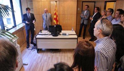 """Puigdemont assegura que la política espanyola genera """"desconcert"""" a l'estranger"""