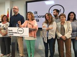 Mercè Homs assegura que l'objectiu del PDC és l'Ajuntament de Barcelona el 2019 (EUROPA PRESS)