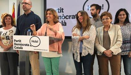 Mercè Homs assegura que l'objectiu del PDC és l'Ajuntament de Barcelona el 2019