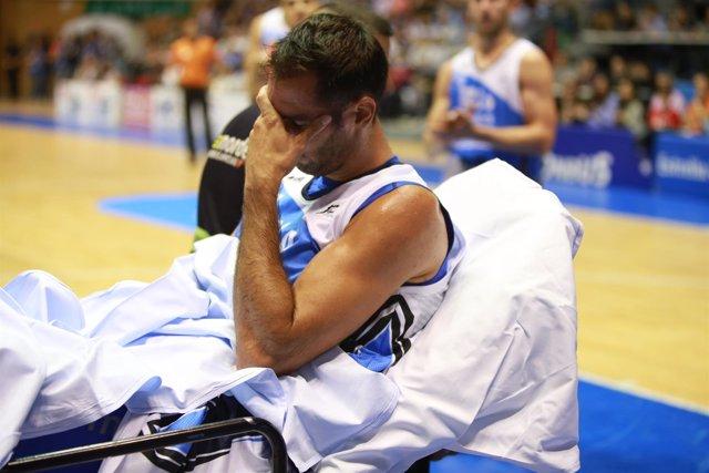Corbacho sufre una rotura del tendón rotuliano de la rodilla izquierda