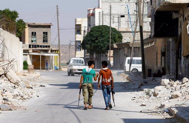 La localidad siria de Jarablus