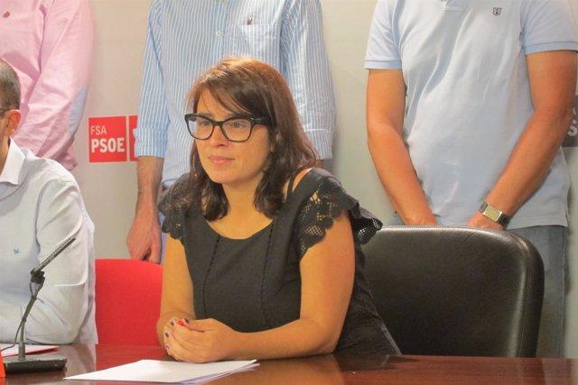 La Diputada Del PSOE De Asturias En El Congreso, Adriana Lastra