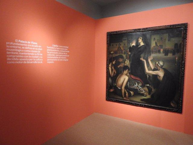 Una de las obras de Julio Romero de Torres de la Sala 'Tesoros de CajaSur'