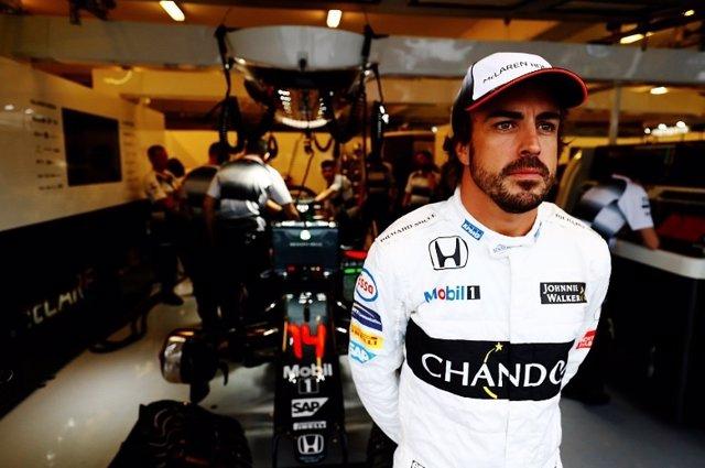 Fernando Alonso McLaren Hungría