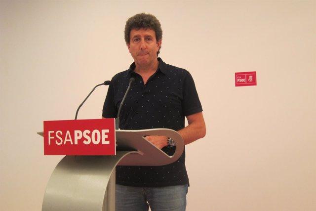 El Secretario De Organización De La FSA, Jesús Gutiérrez.