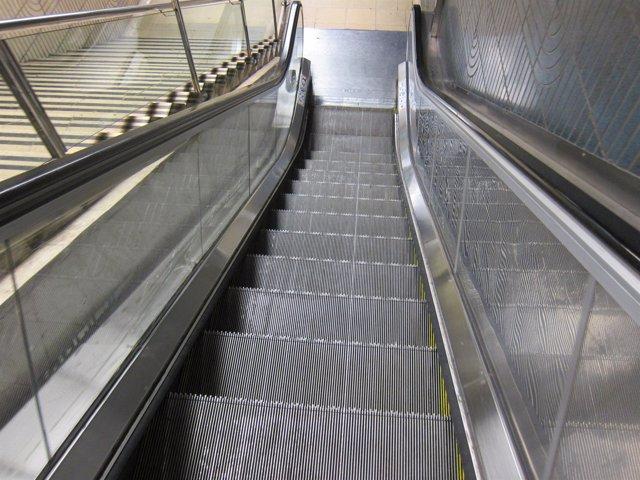 Escaleras y escaleras mecánicas, accesibilidad, movilidad