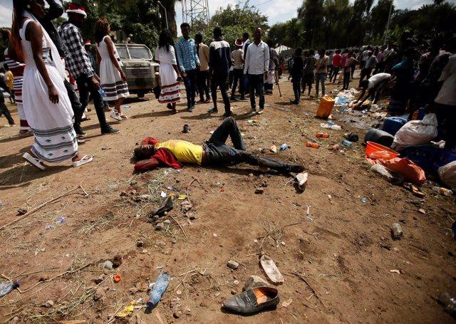Represión policial contra los Oromo en Etiopía